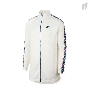 Nike Taped Track Jacket off white, navy, red